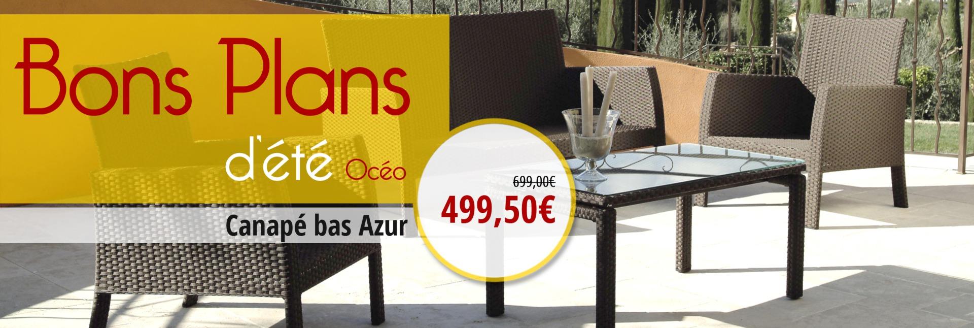 Canapé bas Azur