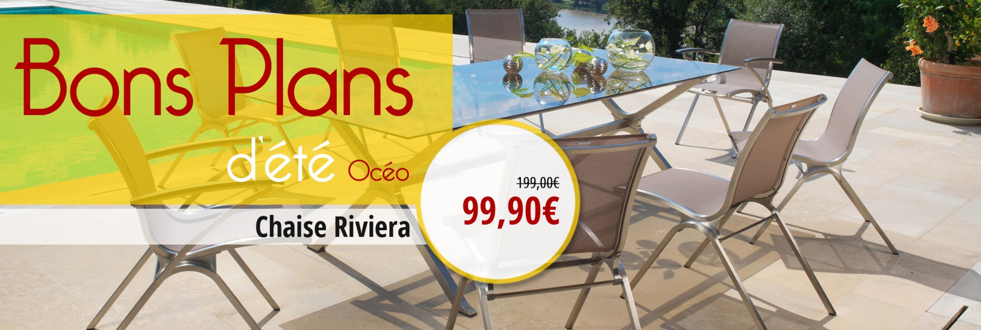 Chaise Riviera