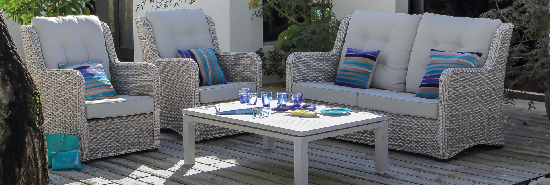 oc o sp cialiste du mobilier de jardin haut de gamme. Black Bedroom Furniture Sets. Home Design Ideas