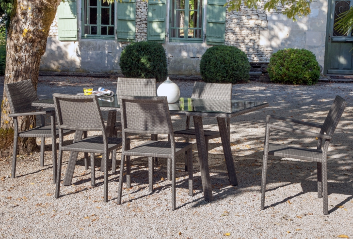 Table Tinos + assises Manon