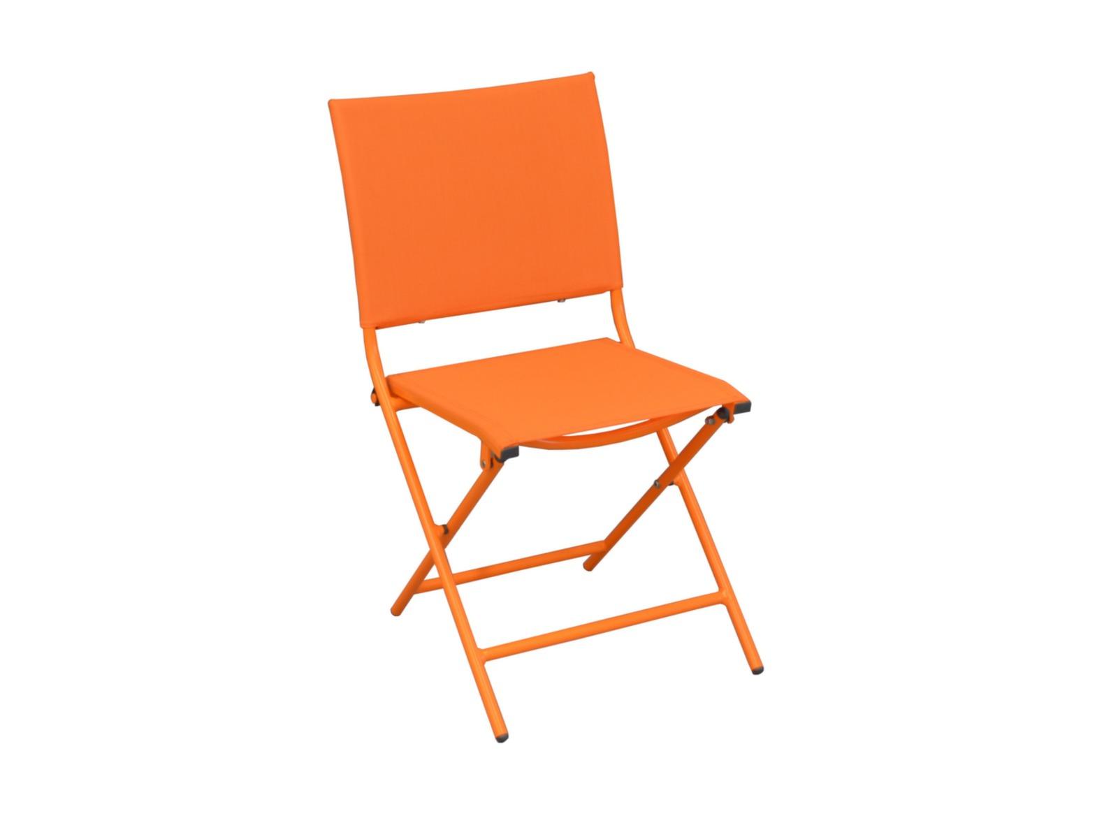 chaise de jardin globe color e et pliable proloisirs. Black Bedroom Furniture Sets. Home Design Ideas