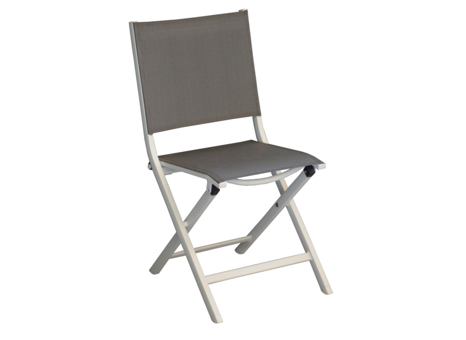 chaises de jardin en aluminium thema - proloisirs - Chaise De Jardin Pliante Aluminium