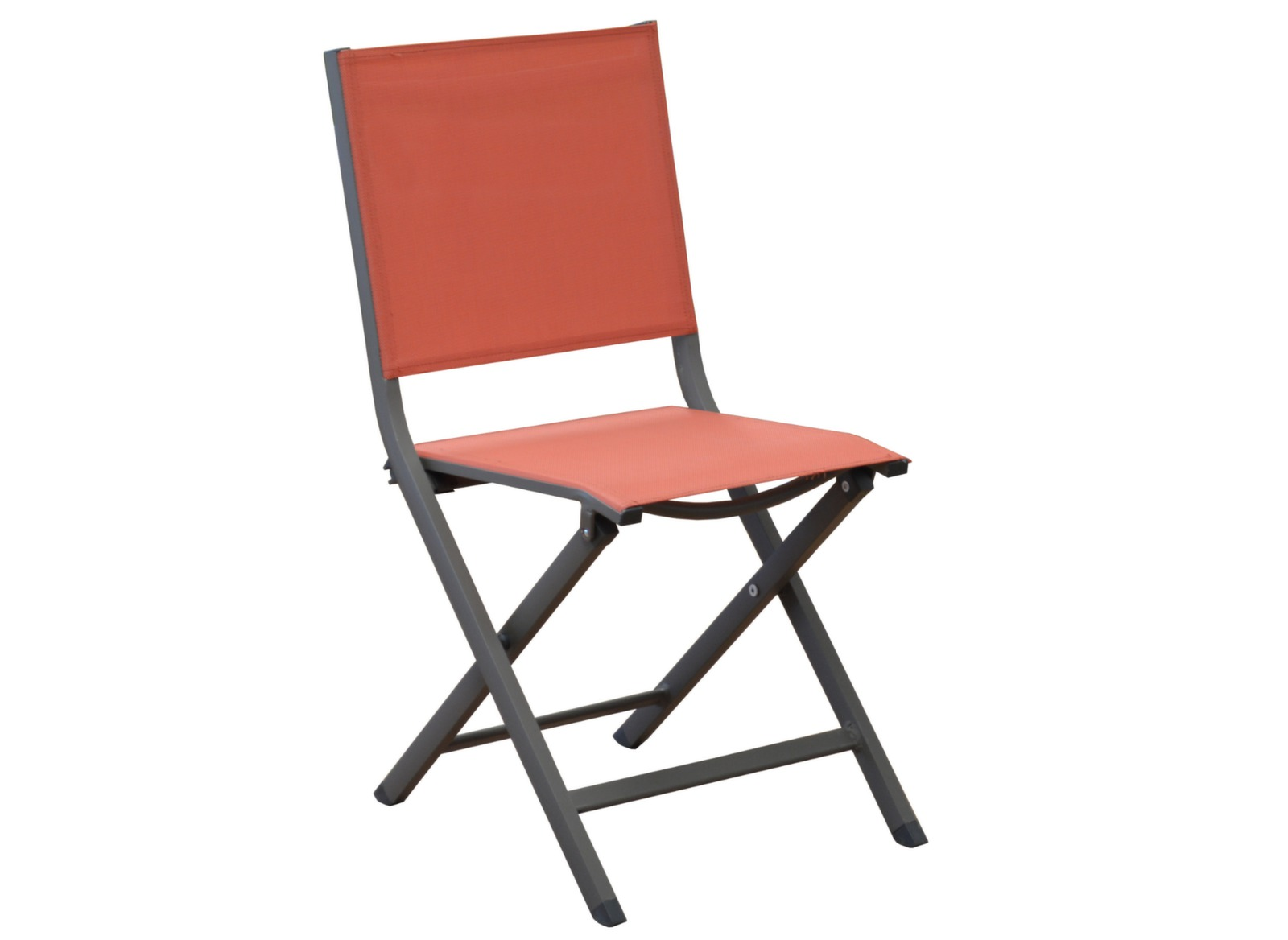Salon jardin gu ridon 80cm 2 chaises pliantes proloisirs for Chaise pliante