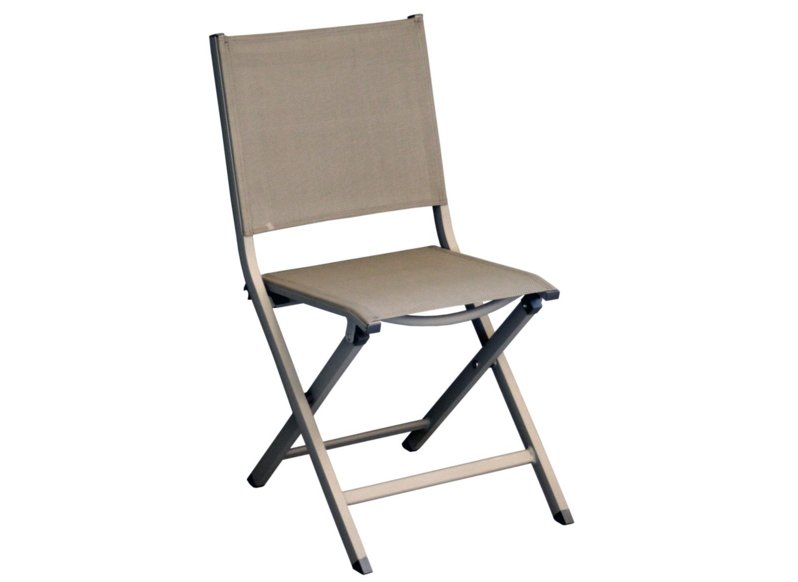 Chaises de jardin en aluminium Thema - Proloisirs