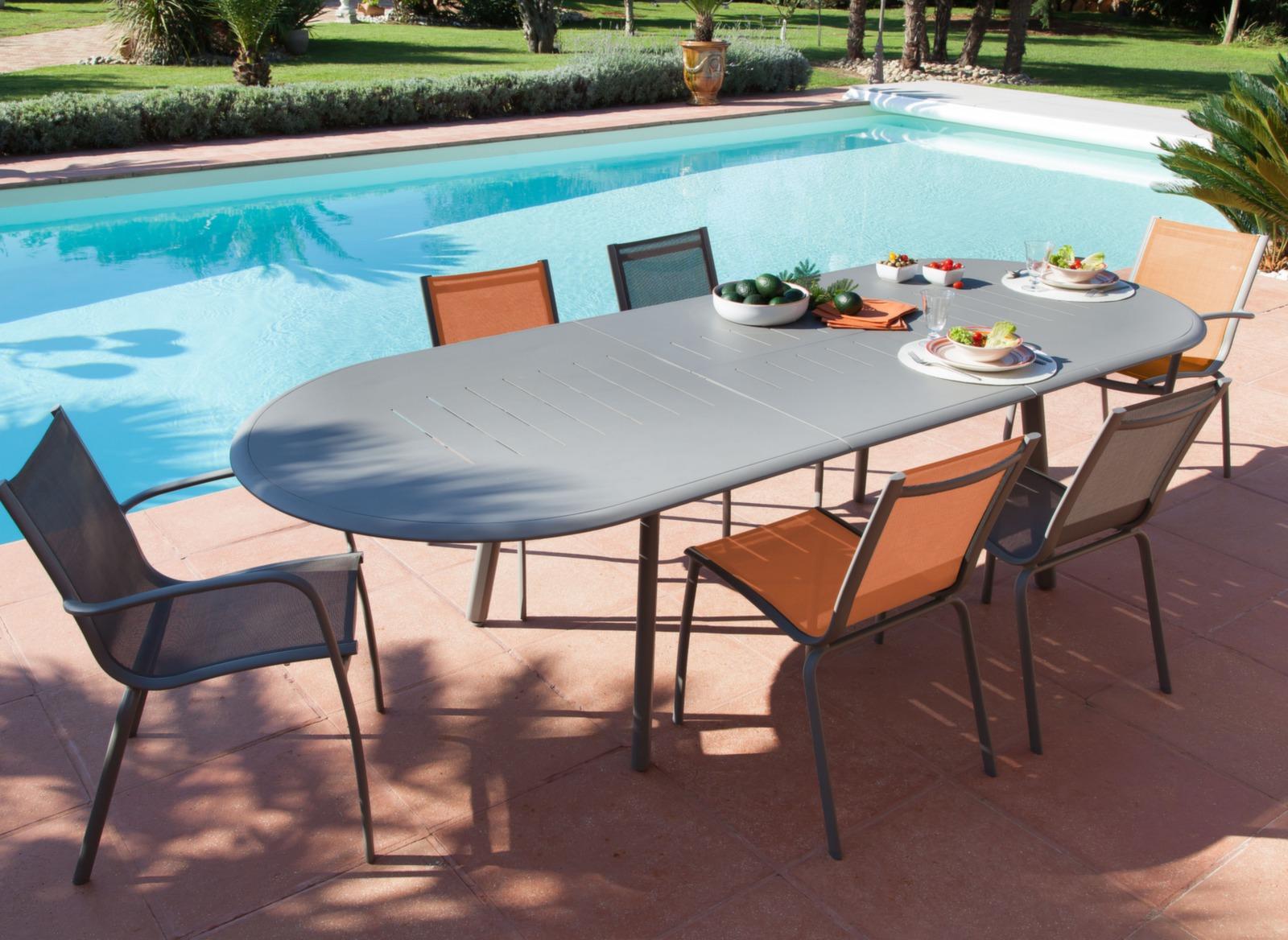 table brasa 150 200 cm tables extensibles mobilier de jardin en ligne meubles de jardin. Black Bedroom Furniture Sets. Home Design Ideas