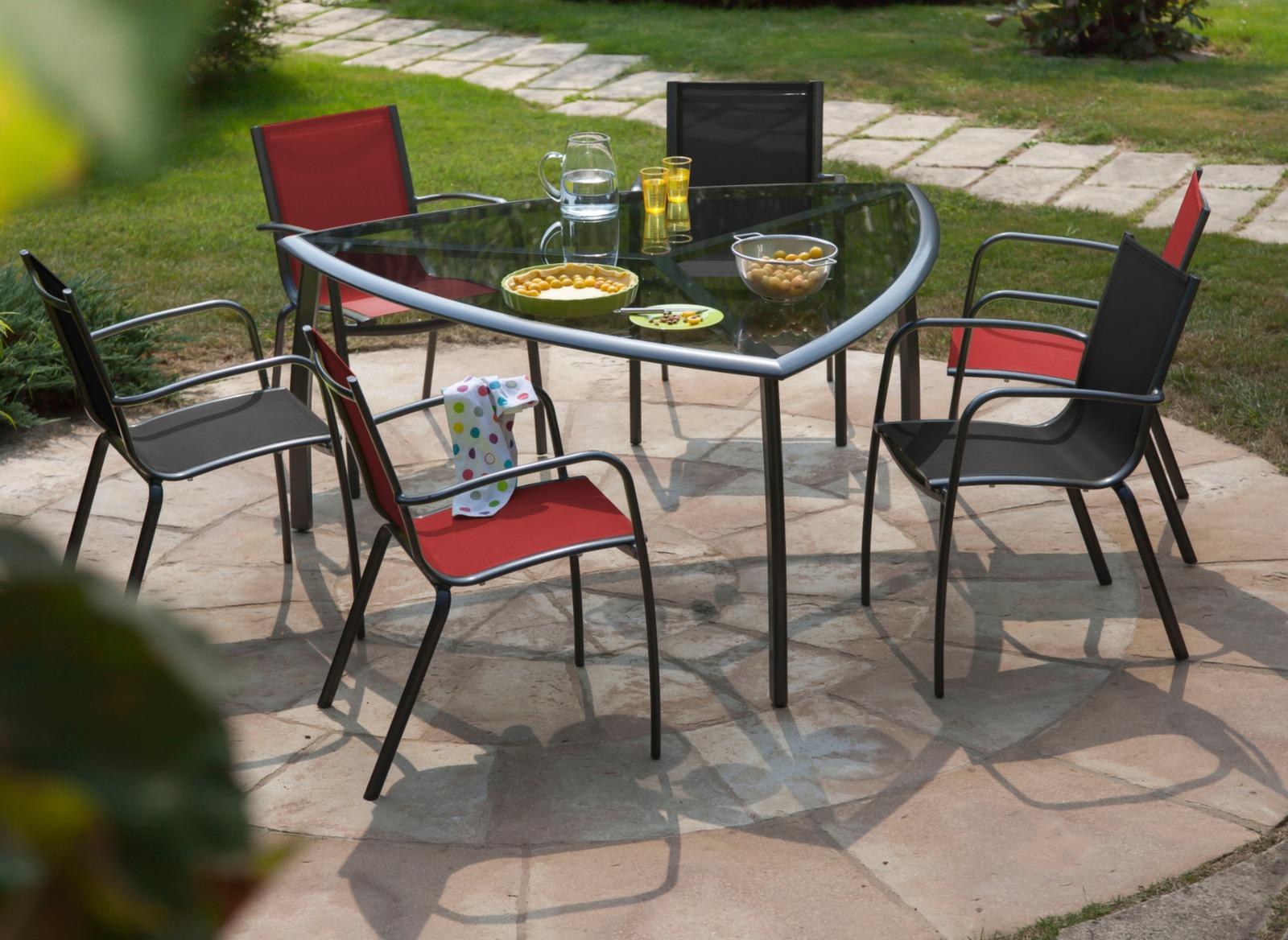 Fauteuil lin a royal grey gris chaises et fauteuils de for Achat mobilier de jardin en ligne