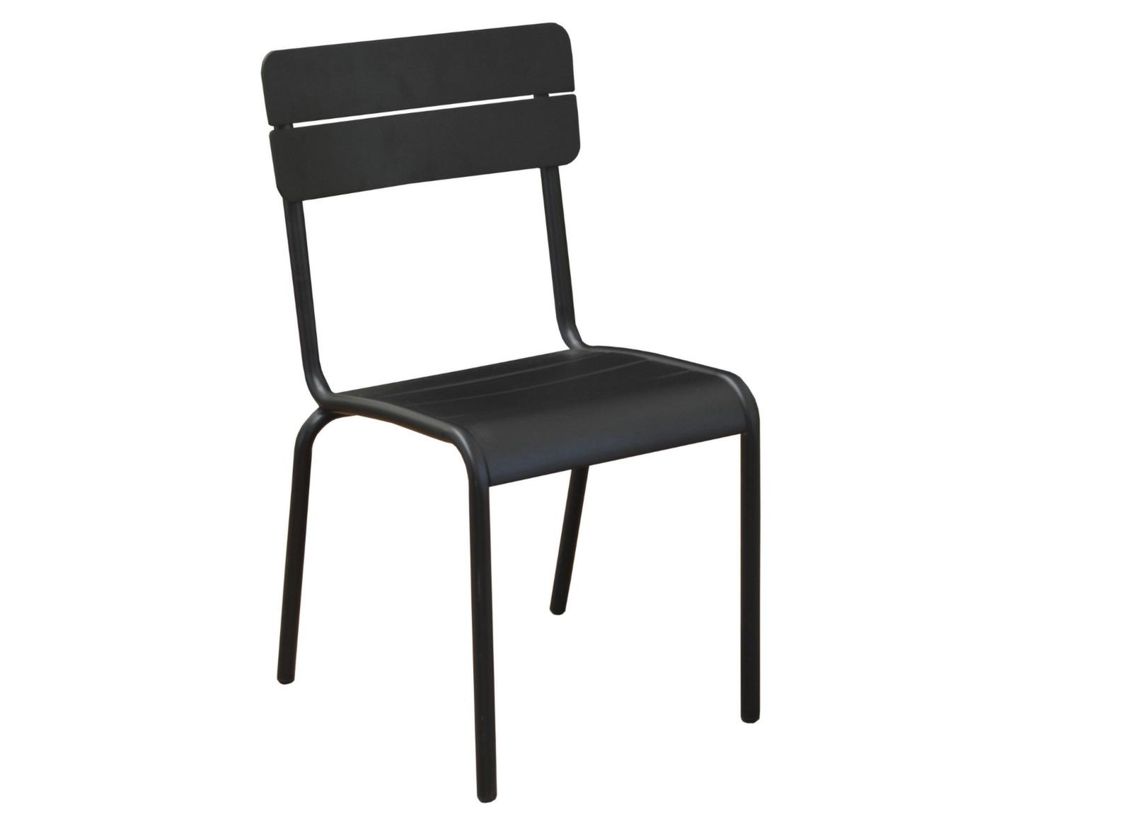 Beautiful chaise de jardin aluminium pictures for Chaise jardin aluminium textilene