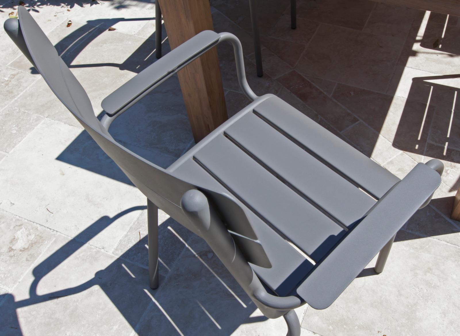 Jardin Fauteuil En De Proloisirs Aluminium Style Ecole Mobilier 3JcTlKF1