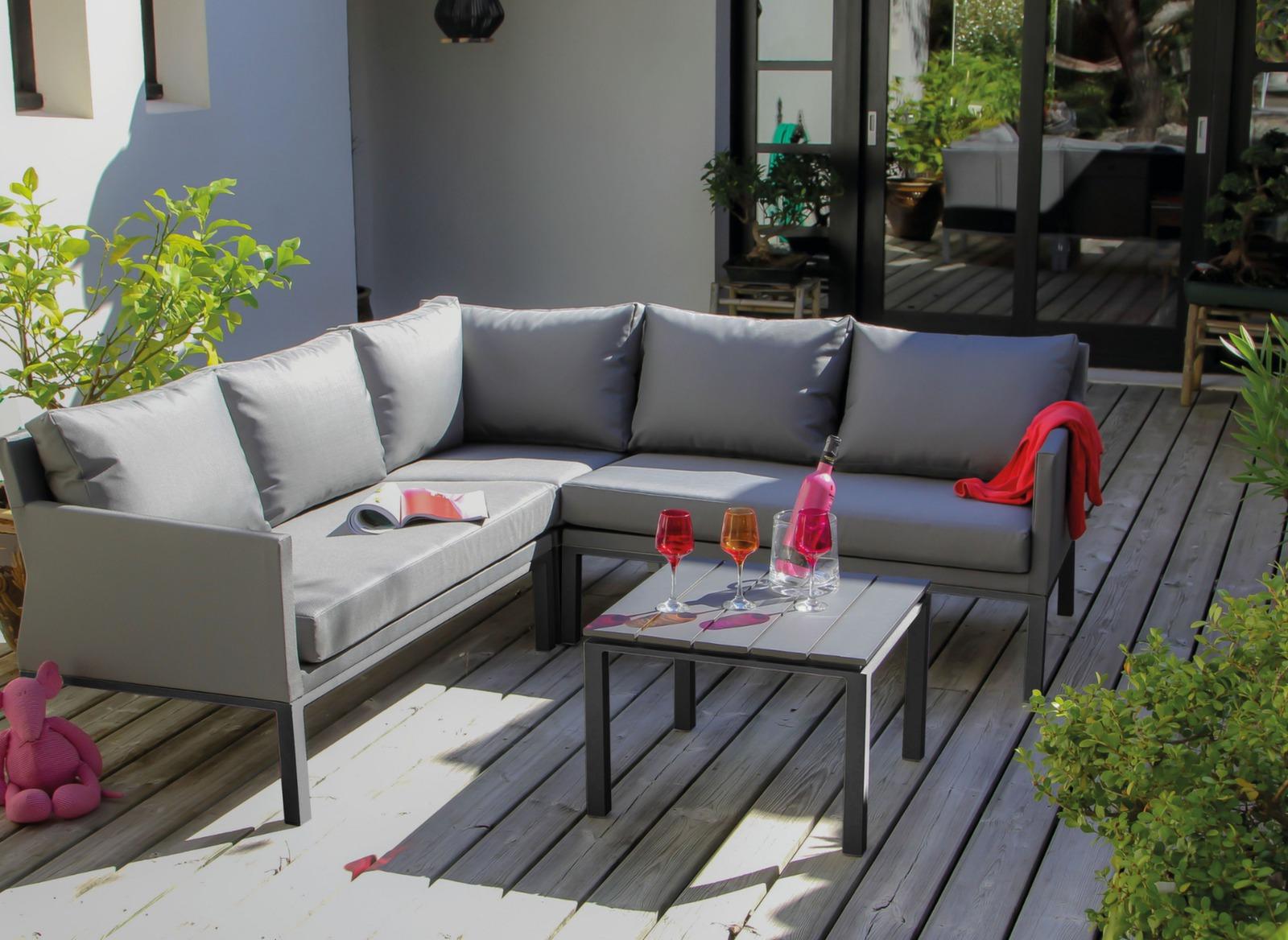 fauteuil de jardin m ridienne oslo meubles d 39 ext rieur proloisirs. Black Bedroom Furniture Sets. Home Design Ideas
