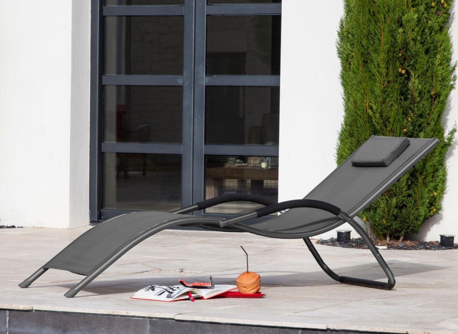 lit de soleil riva mobilier de jardin d tente proloisirs. Black Bedroom Furniture Sets. Home Design Ideas