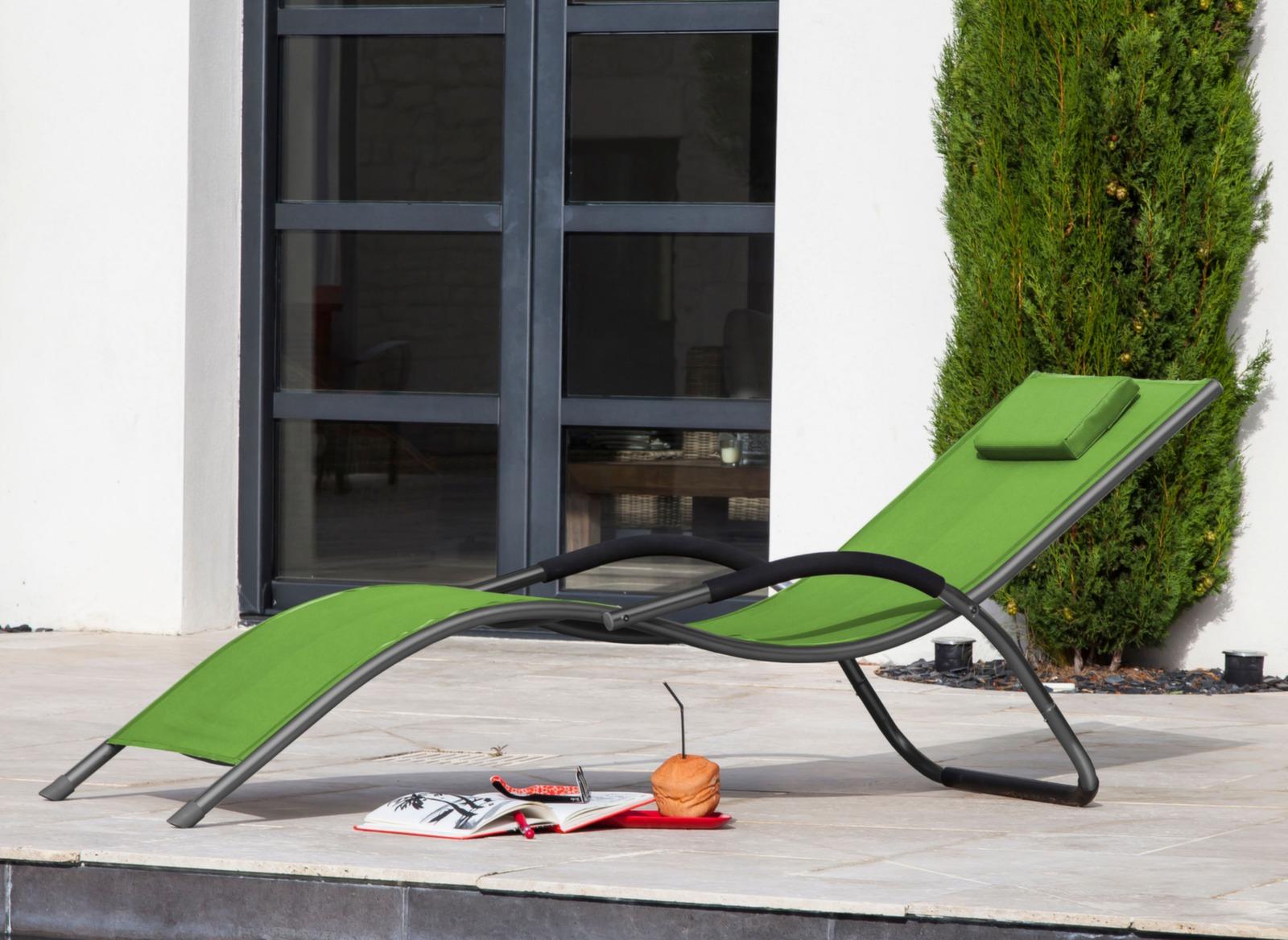 lit de soleil riva mobilier de jardin d tente proloisirs. Black Bedroom Furniture Sets. Home Design Ideas