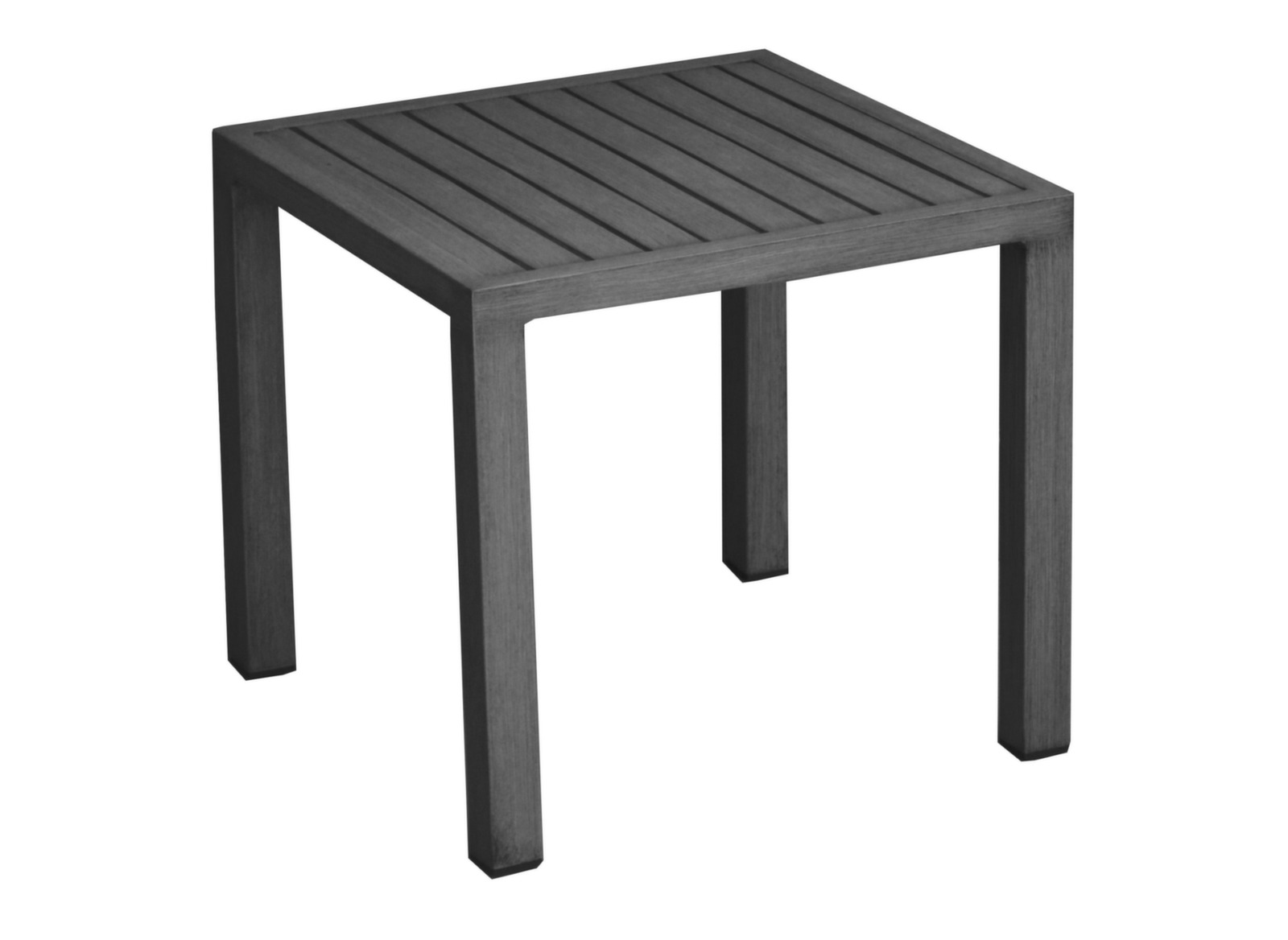 Table basse de jardin carr e lou proloisirs - Table jardin carree calais ...