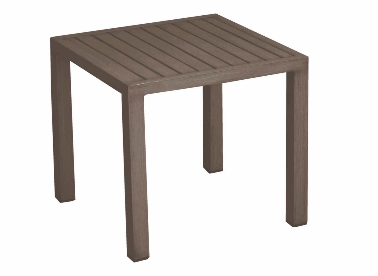 Table basse de jardin carr e 40 cm lou tables basses - Table basse de jardin ...