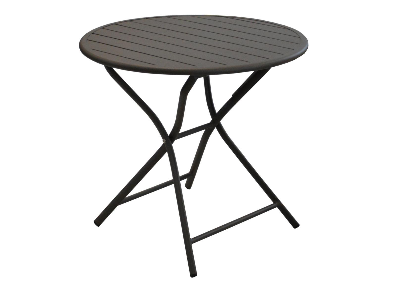 gu ridon rond pliant 80cm globe gu ridons de jardin proloisirs. Black Bedroom Furniture Sets. Home Design Ideas