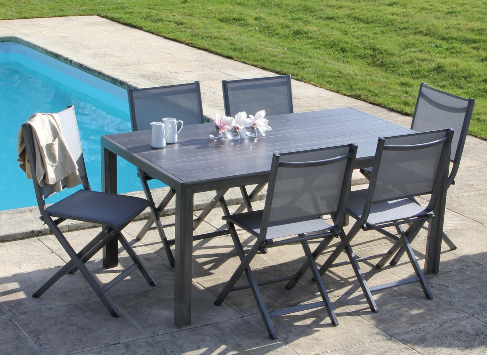Table MT 160 cm - Tables fixes - Meuble de jardin design Proloisirs ...