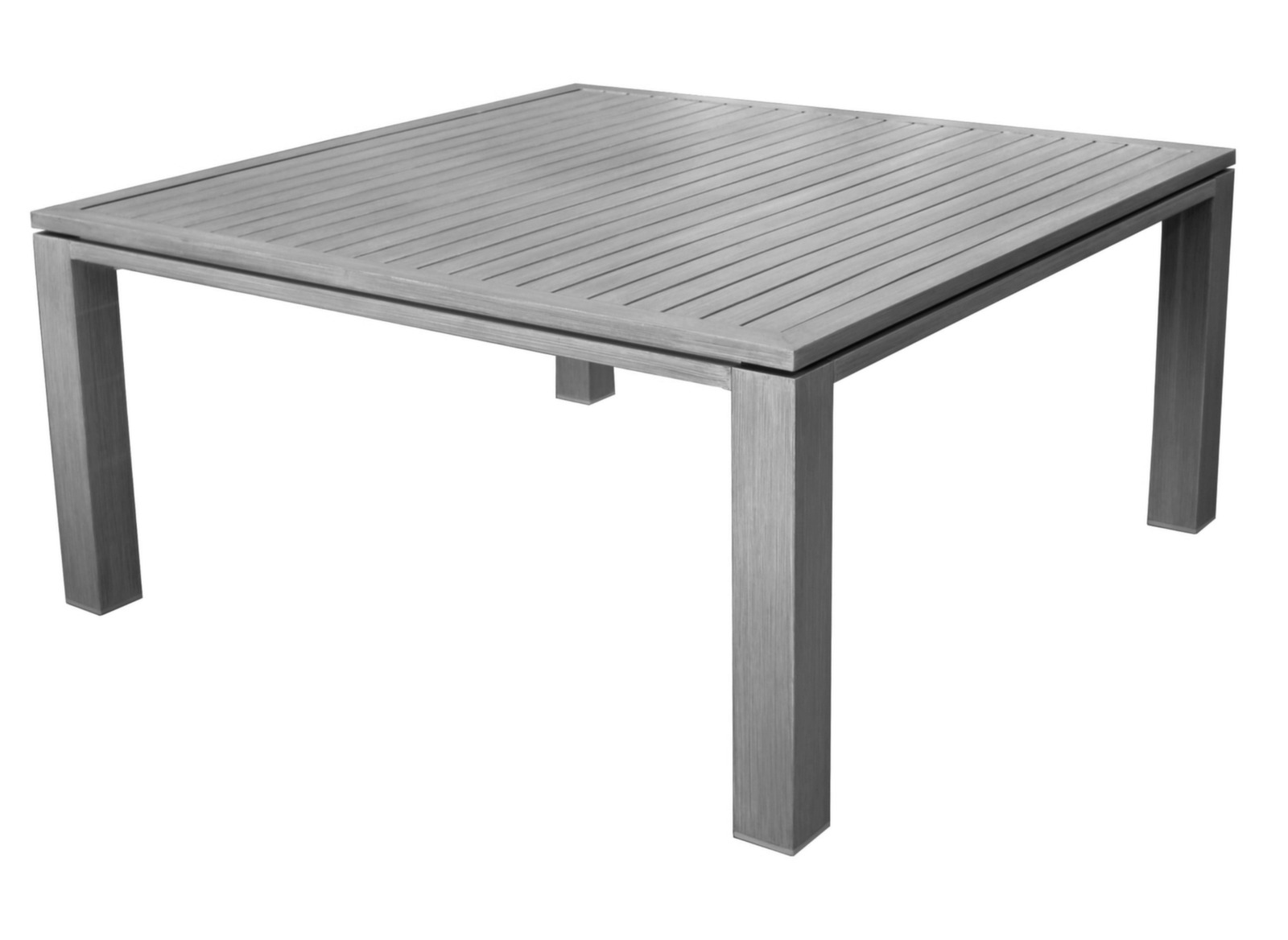 Table de jardin design carr e fiero 160cm proloisirs - Salon de jardin table carree avignon ...