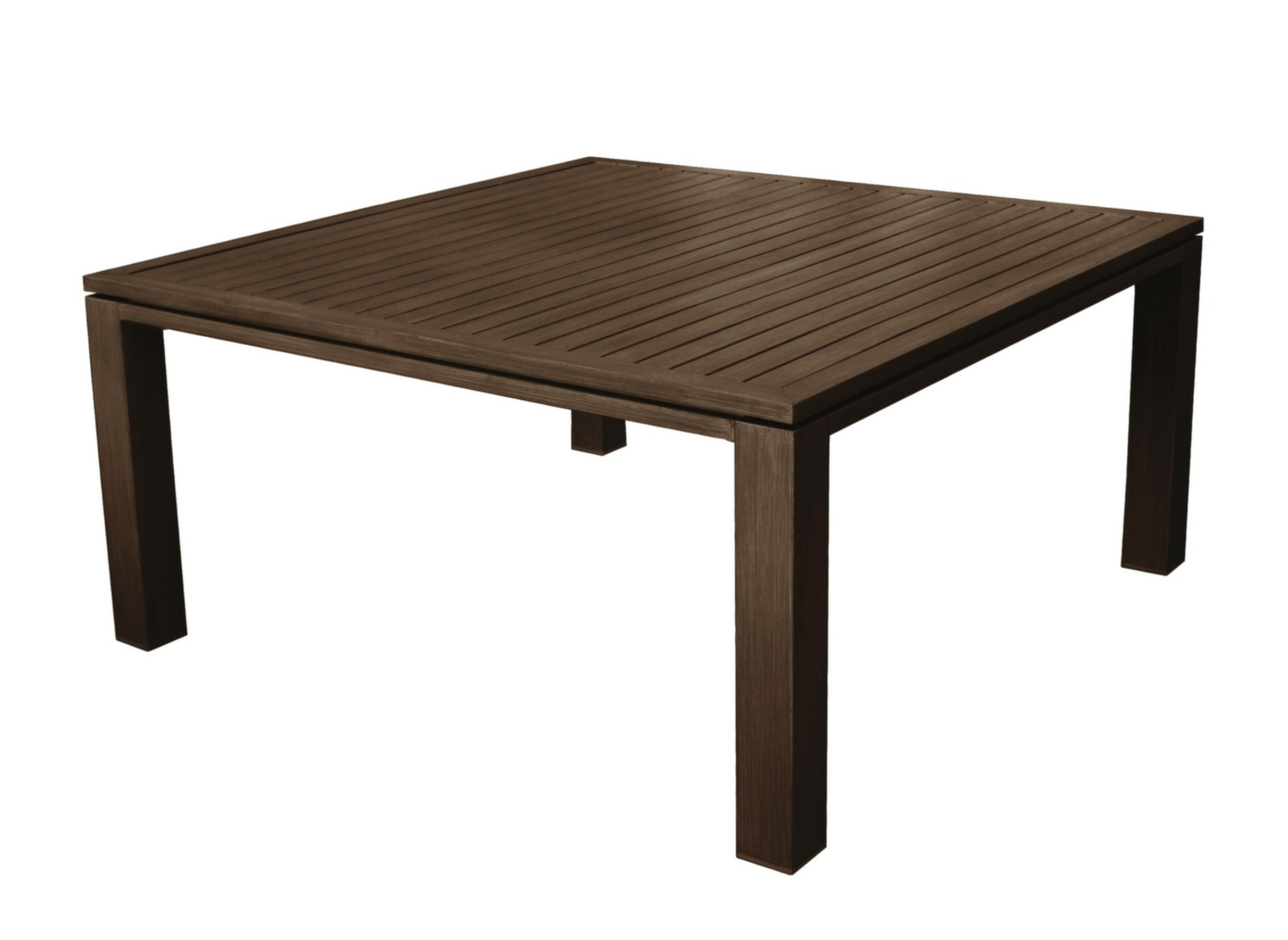 Table de jardin design carr e fiero 160cm proloisirs for Table jardin design