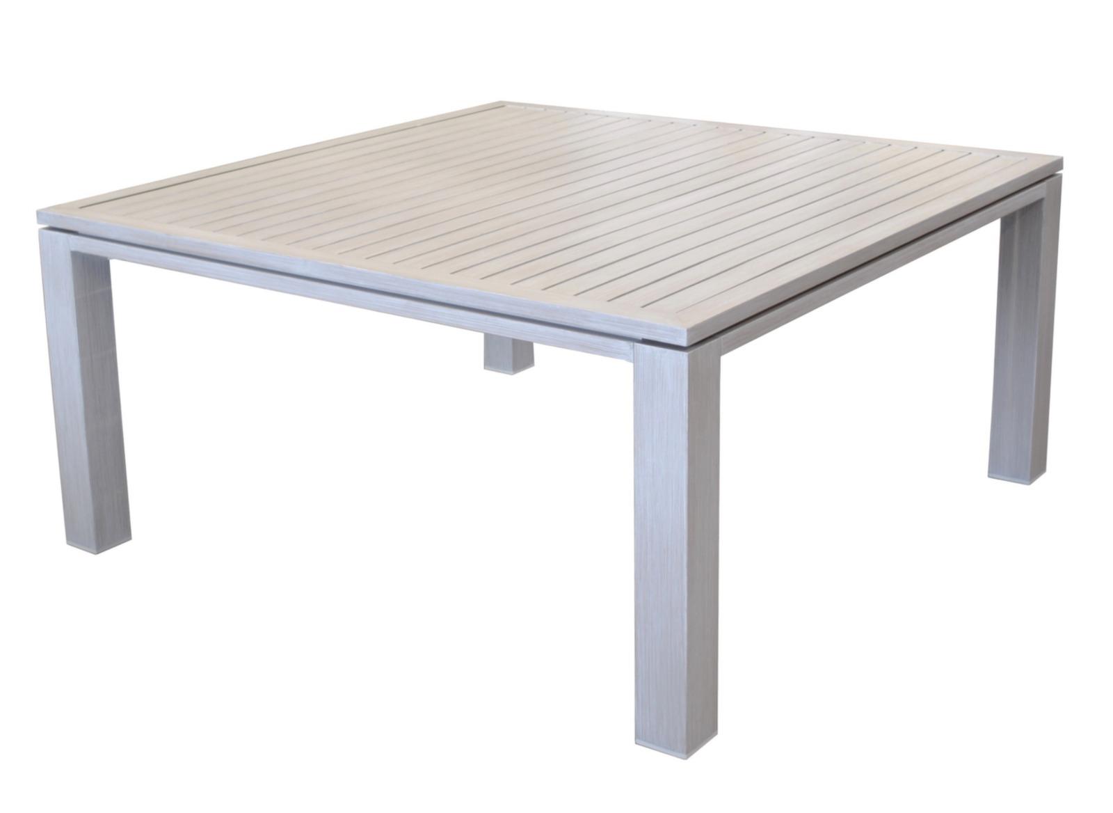 Table de jardin design carr e fiero 160cm proloisirs - Table carree jardin ...