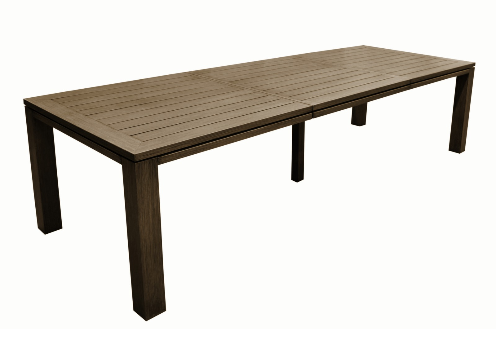 Grande table de jardin rectangle fiero proloisirs - Castorama table de jardin ...