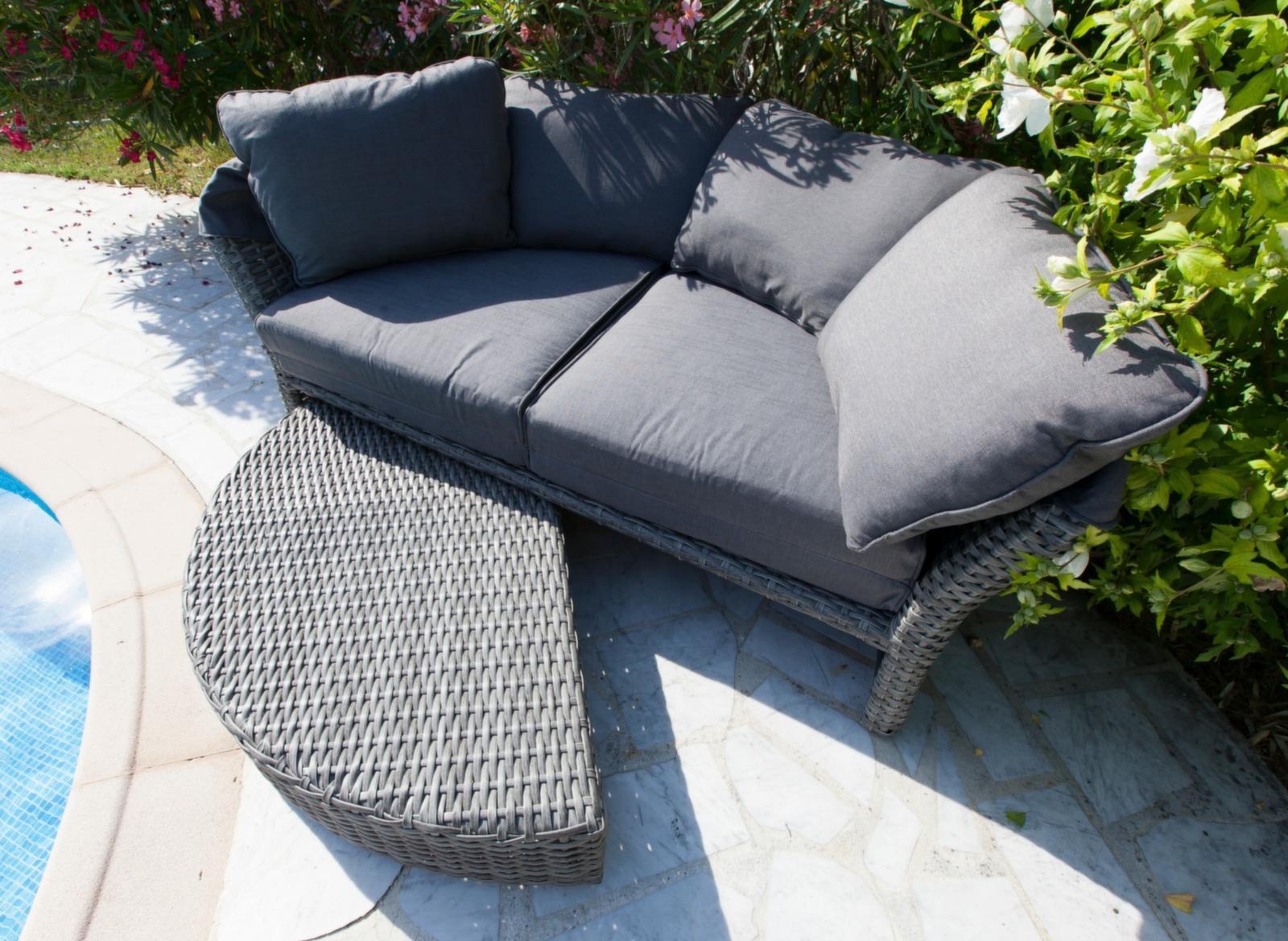 canap lit d 39 ext rieur toit rabattant minois mobilier proloisirs. Black Bedroom Furniture Sets. Home Design Ideas