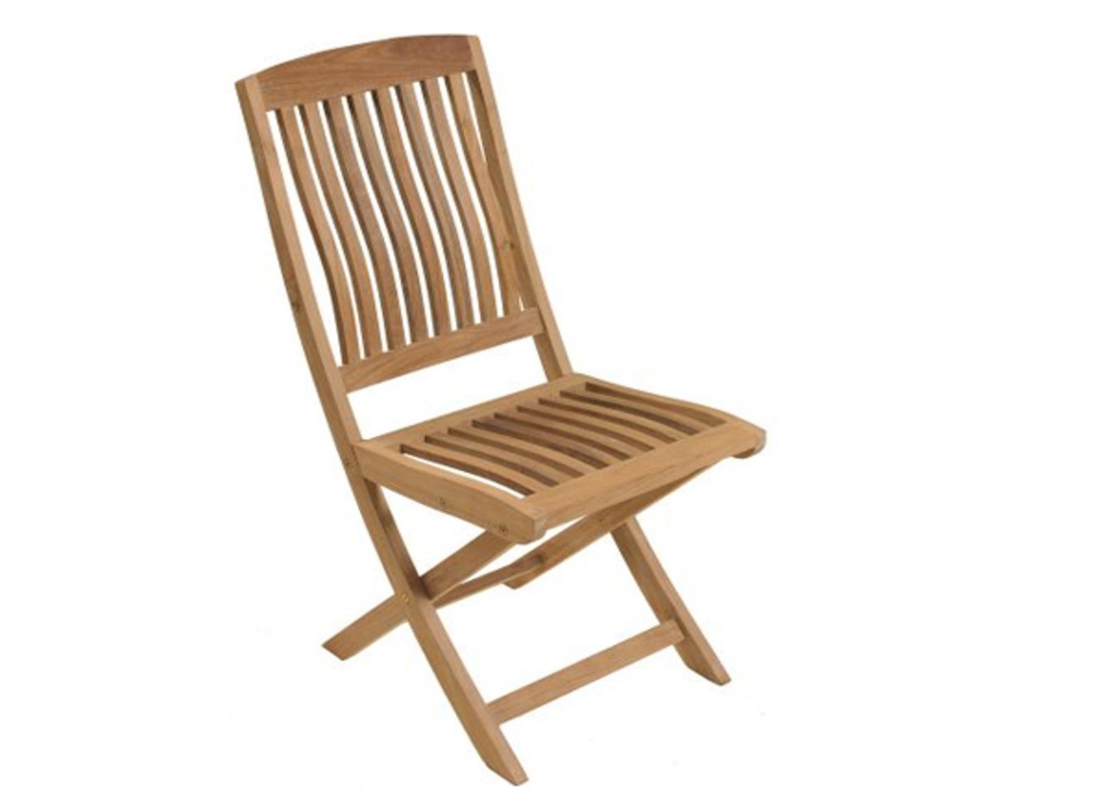 Chaise de jardin en teck Rias - Mobilier de jardin - Proloisirs