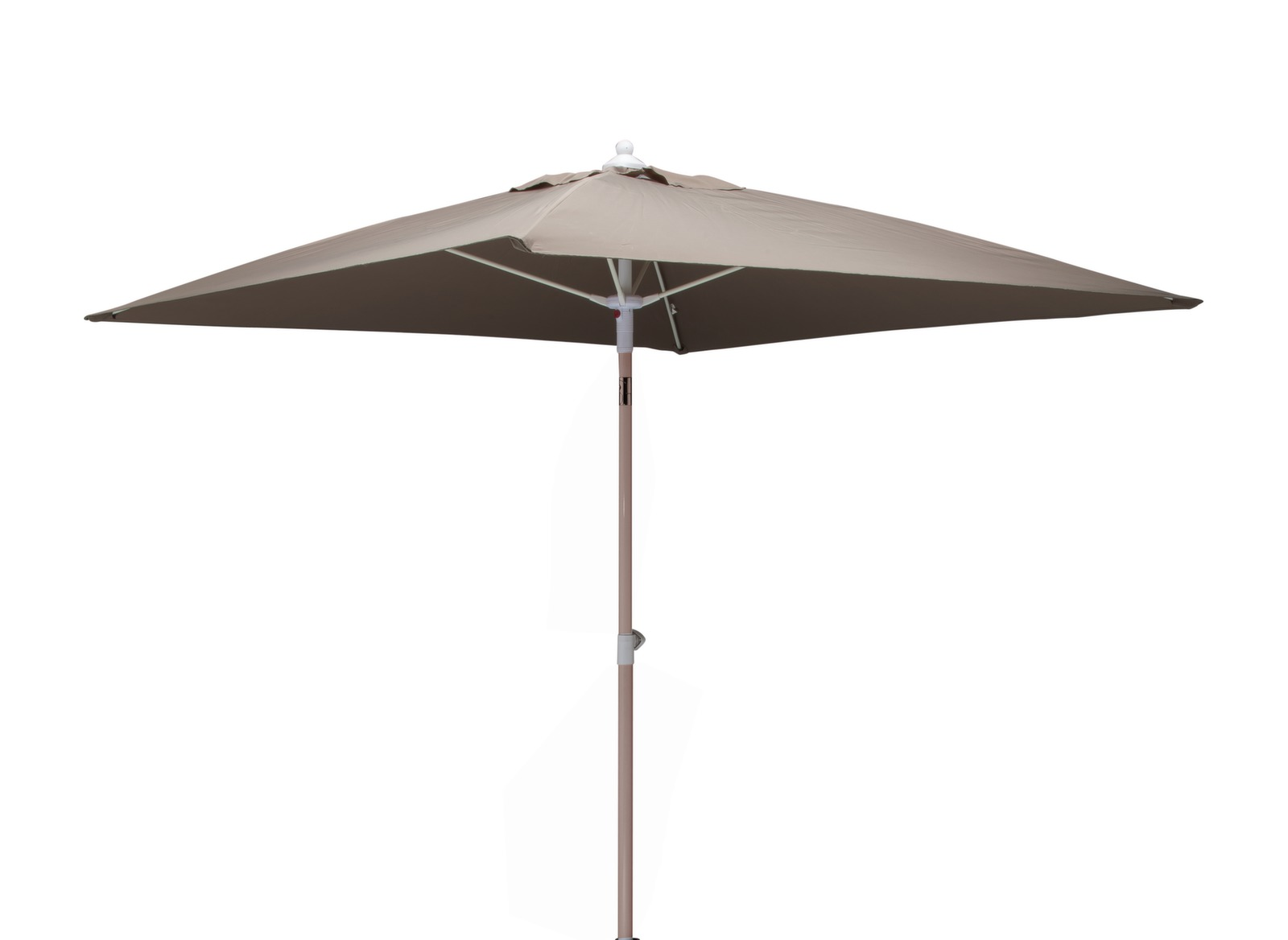 parasol 2x2 taupe parasol droit carr rond ou rectangle mobilier jardin proloisirs. Black Bedroom Furniture Sets. Home Design Ideas