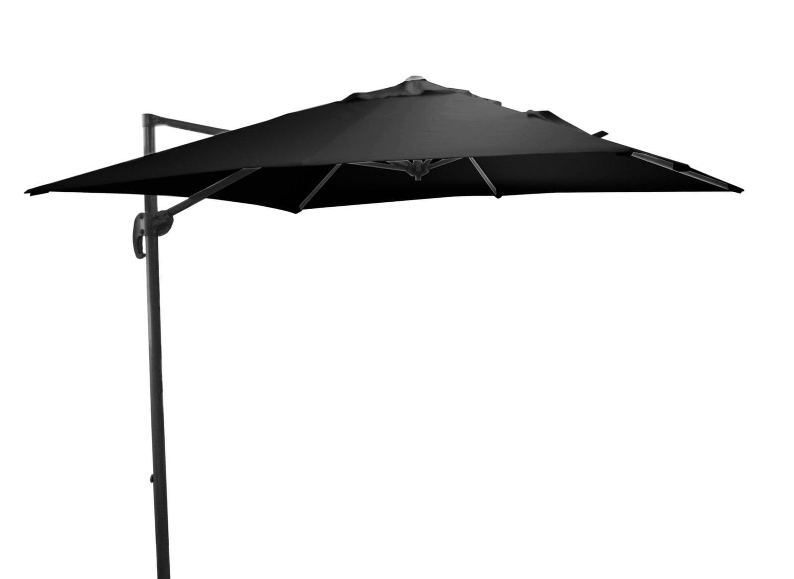 parasol carr d port et inclinable roma proloisirs. Black Bedroom Furniture Sets. Home Design Ideas