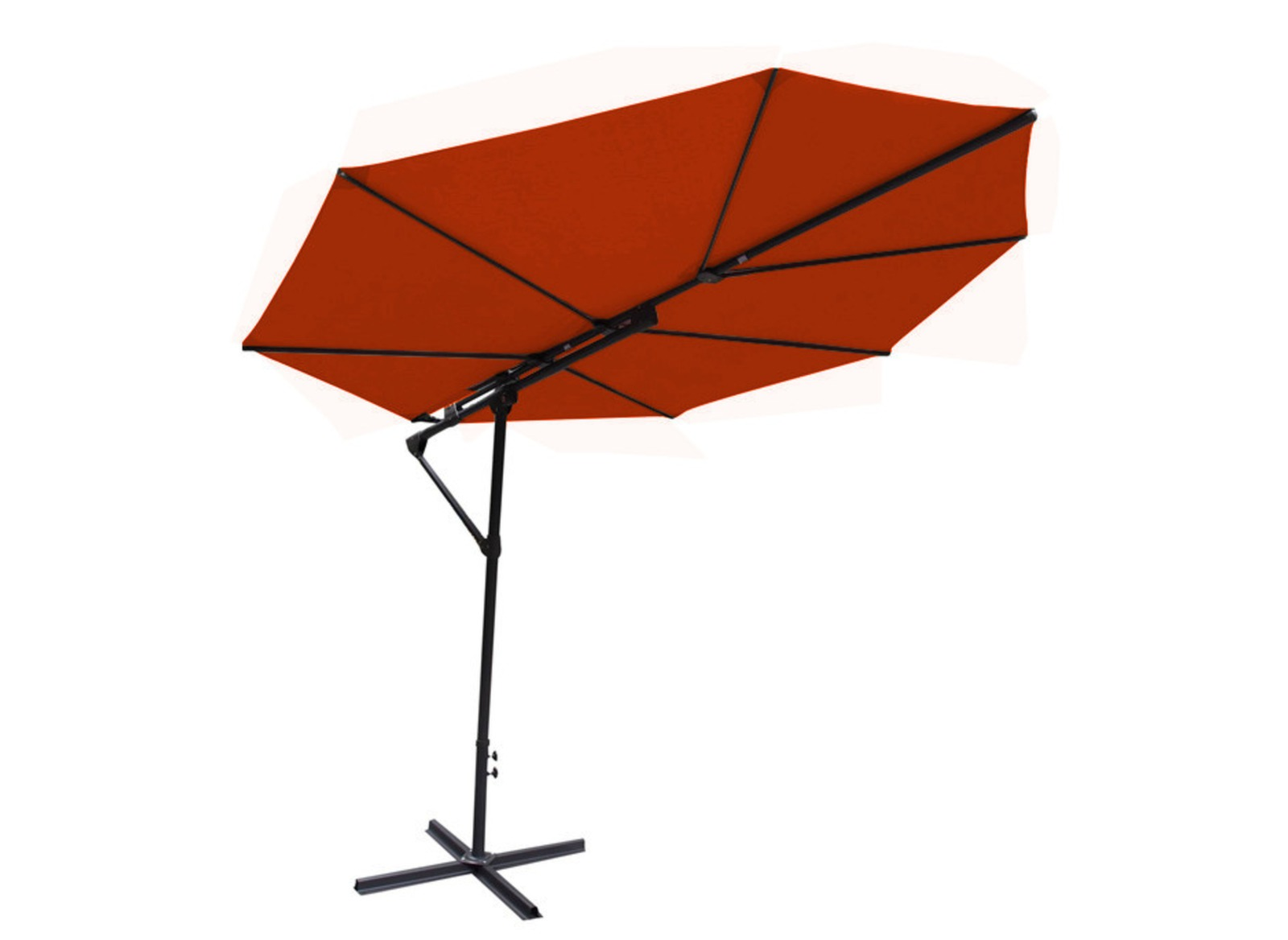 parasol d port feuille sun parasol d port pas cher. Black Bedroom Furniture Sets. Home Design Ideas