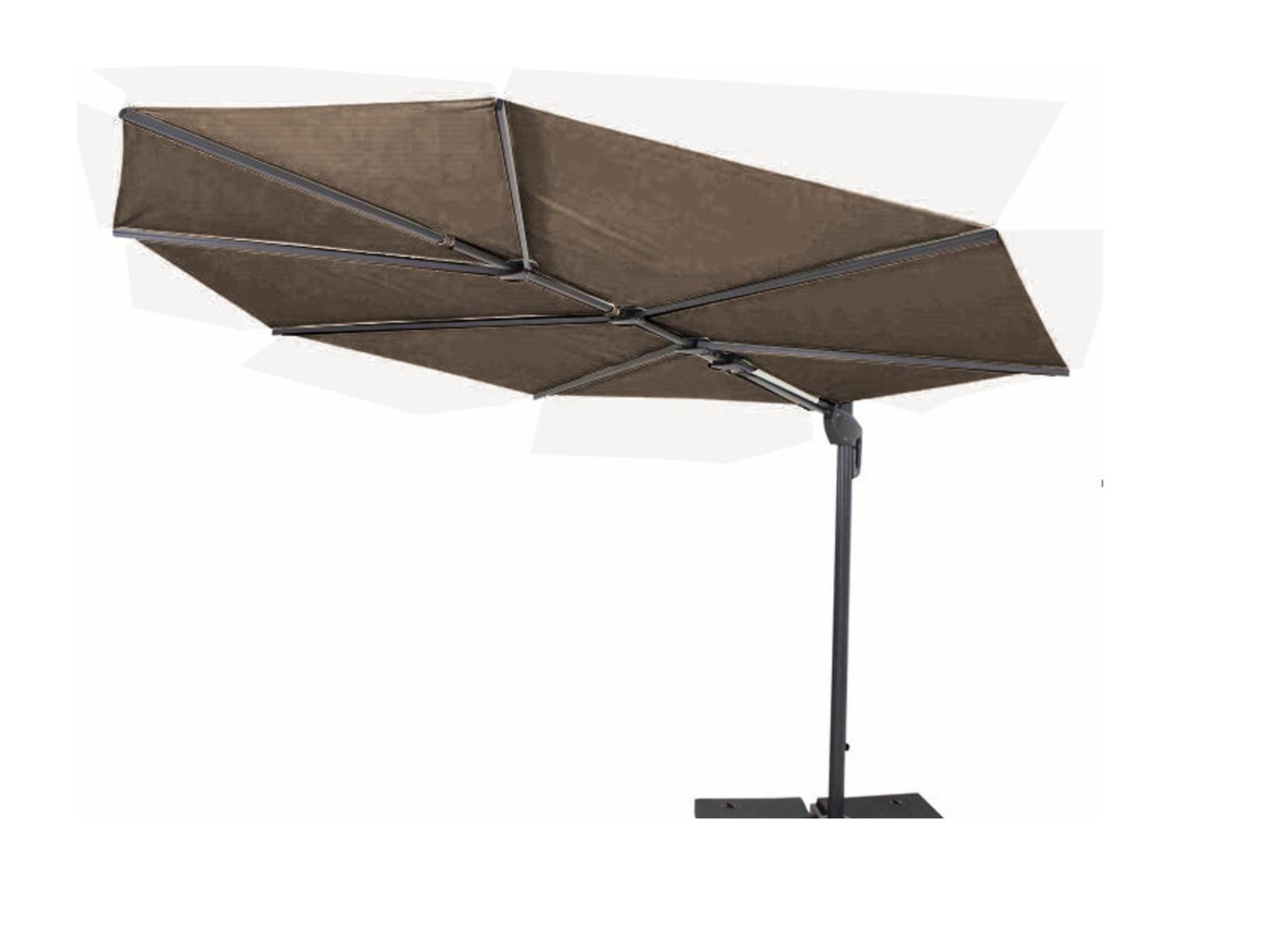 parasol d port feuille premium parasol pas cher. Black Bedroom Furniture Sets. Home Design Ideas