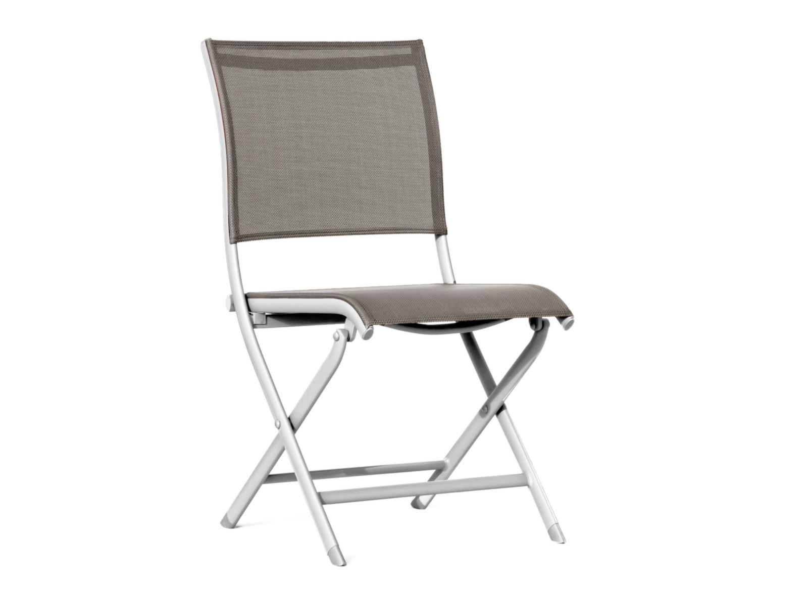 Chaise de jardin pliante blanche l gance oc o - Chaise pliante salon ...