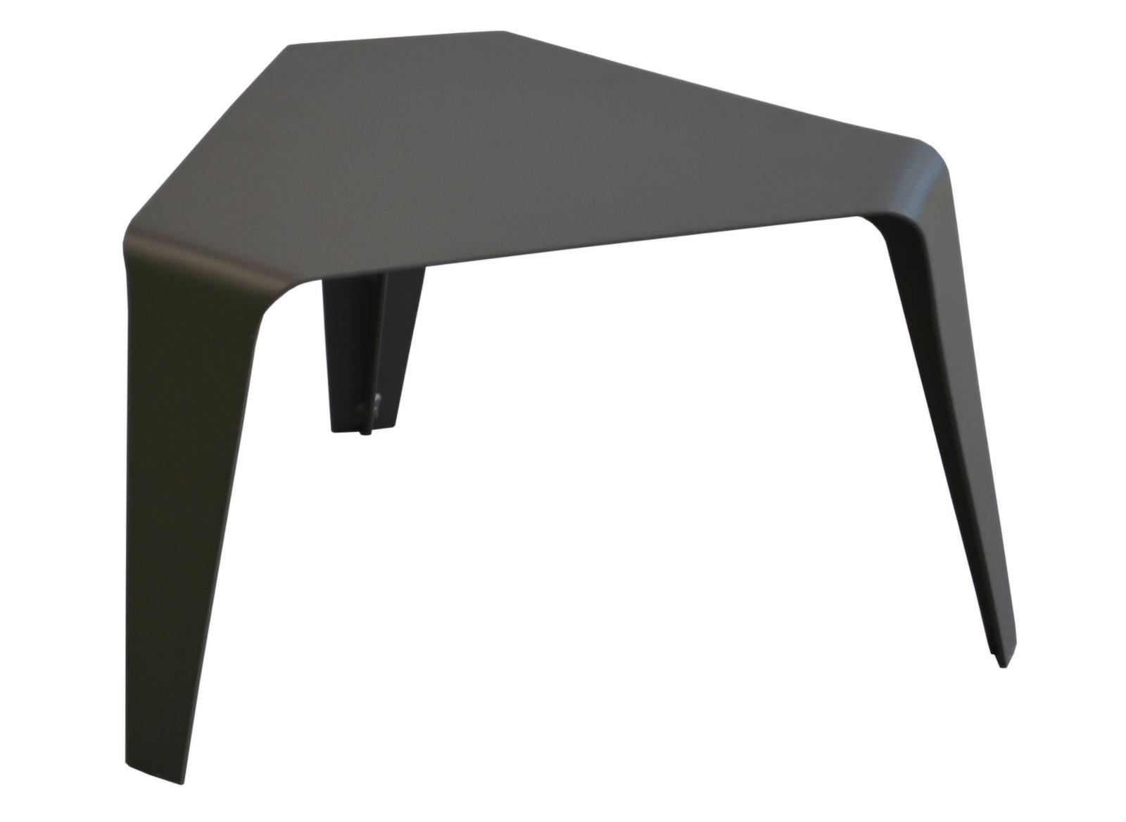 Table basse résine et plateau verre Azur - Tables basses ...