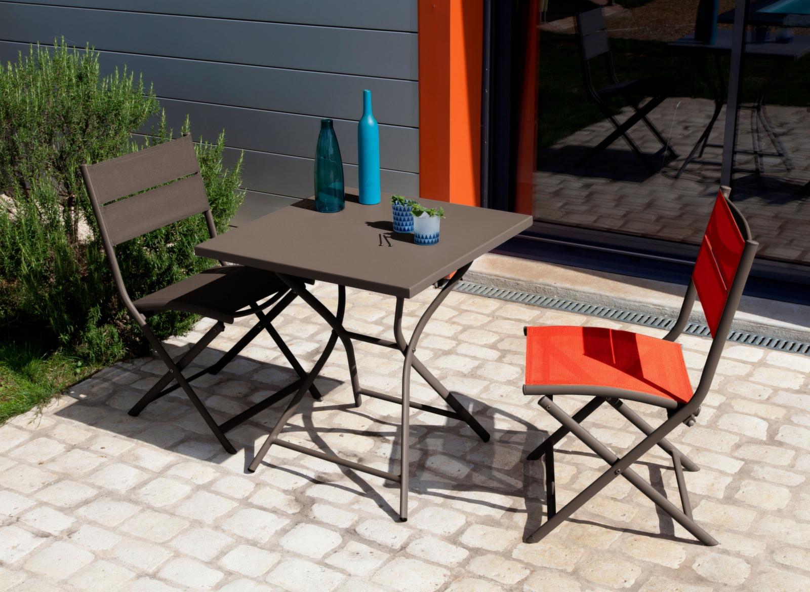 Chaise de jardin pliante en aluminium Win Océo - Proloisirs