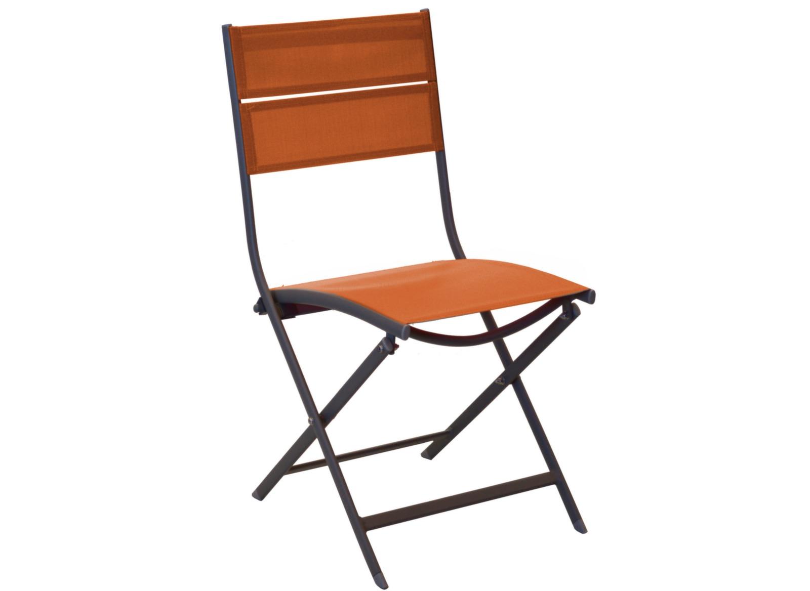 Chaise de jardin pliante en aluminium win oc o proloisirs - Chaise de bateau pliante ...