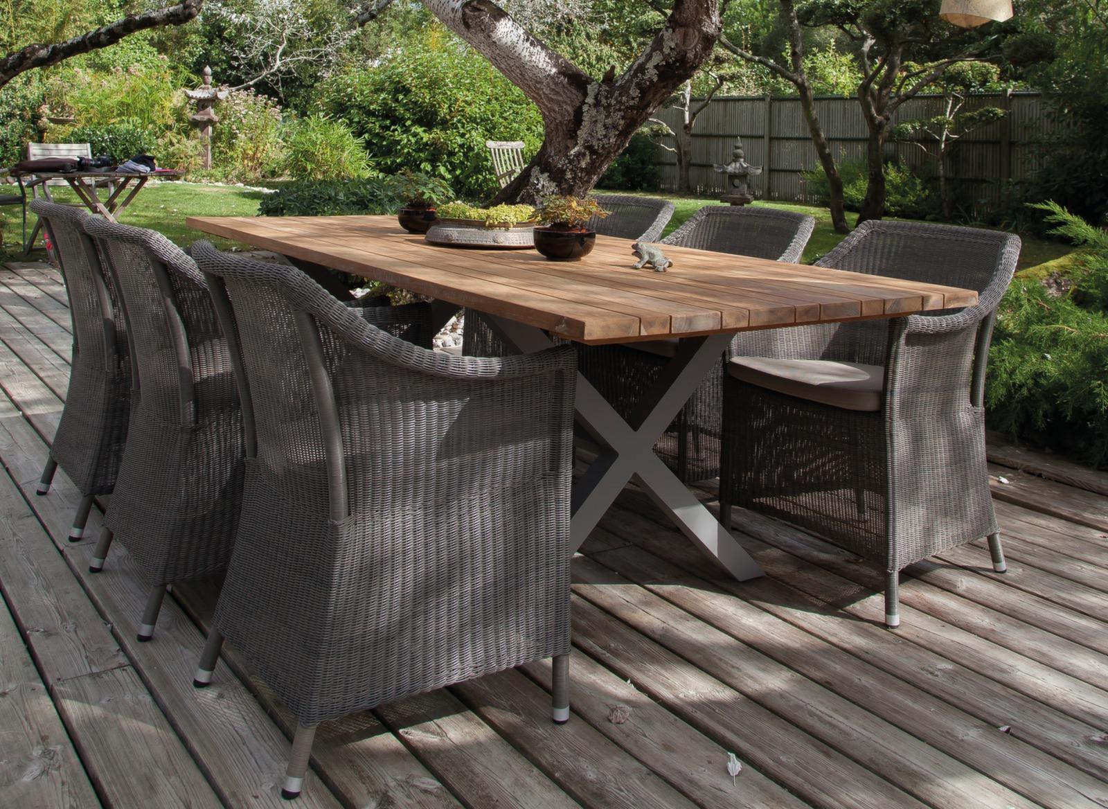 HOUSSE PROTECTION POUR TABLE 220x100 POLYESTER/PVC - GRIS