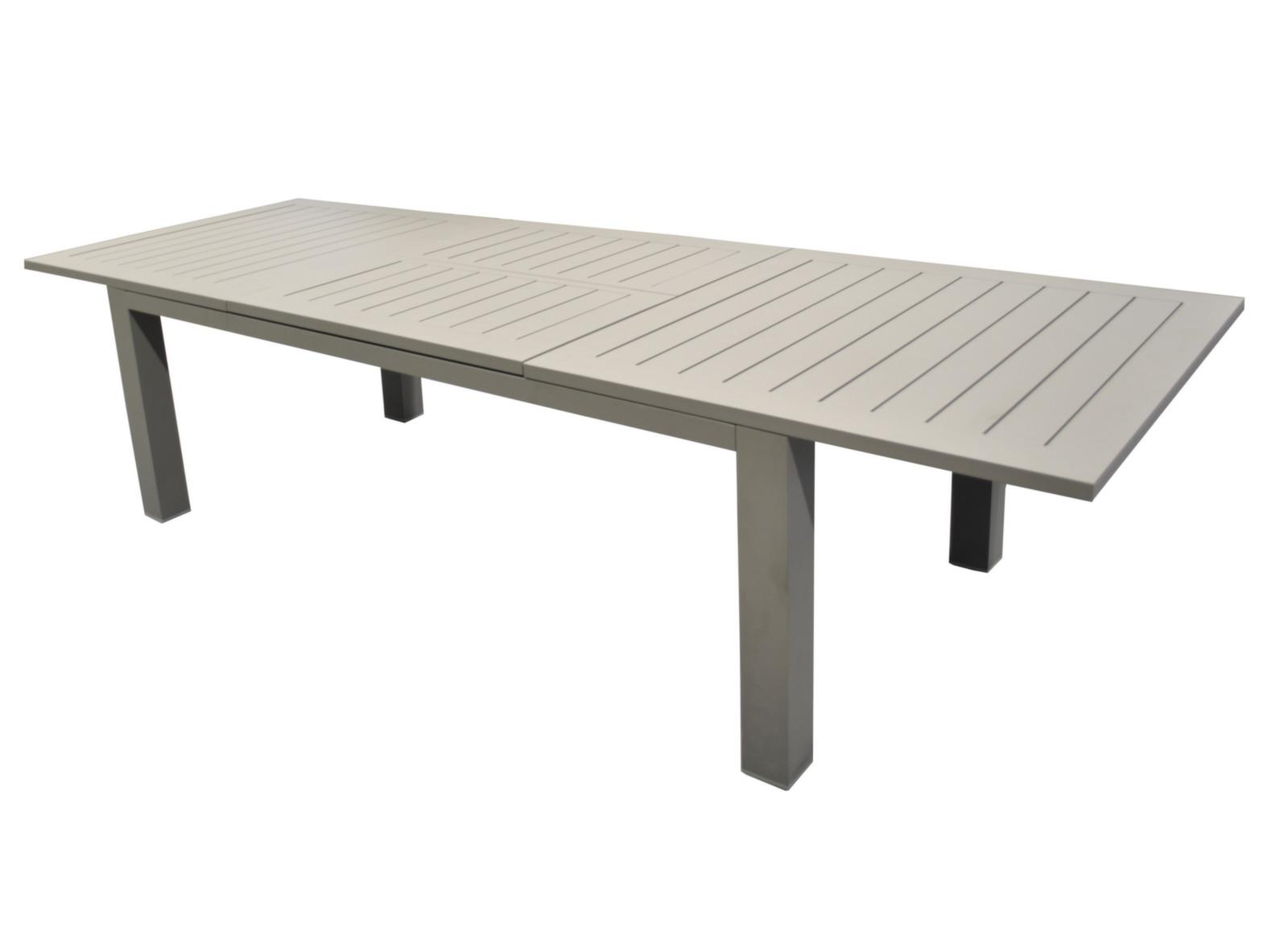 Table Aurore 214/311 cm, finition époxy