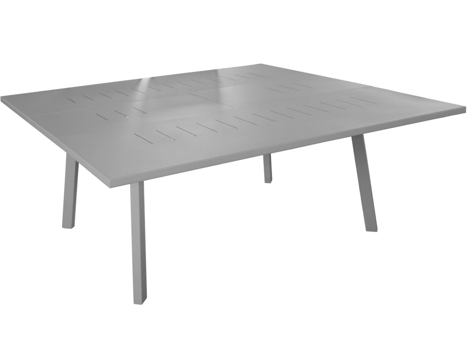 Table Barcelona 130/180 cm + 8 chaises Elégance