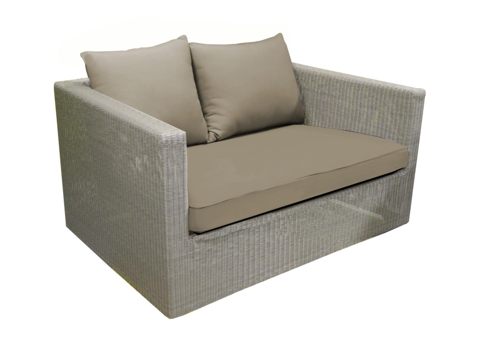 canap de jardin 2 places r sine tress e meadow oc o. Black Bedroom Furniture Sets. Home Design Ideas