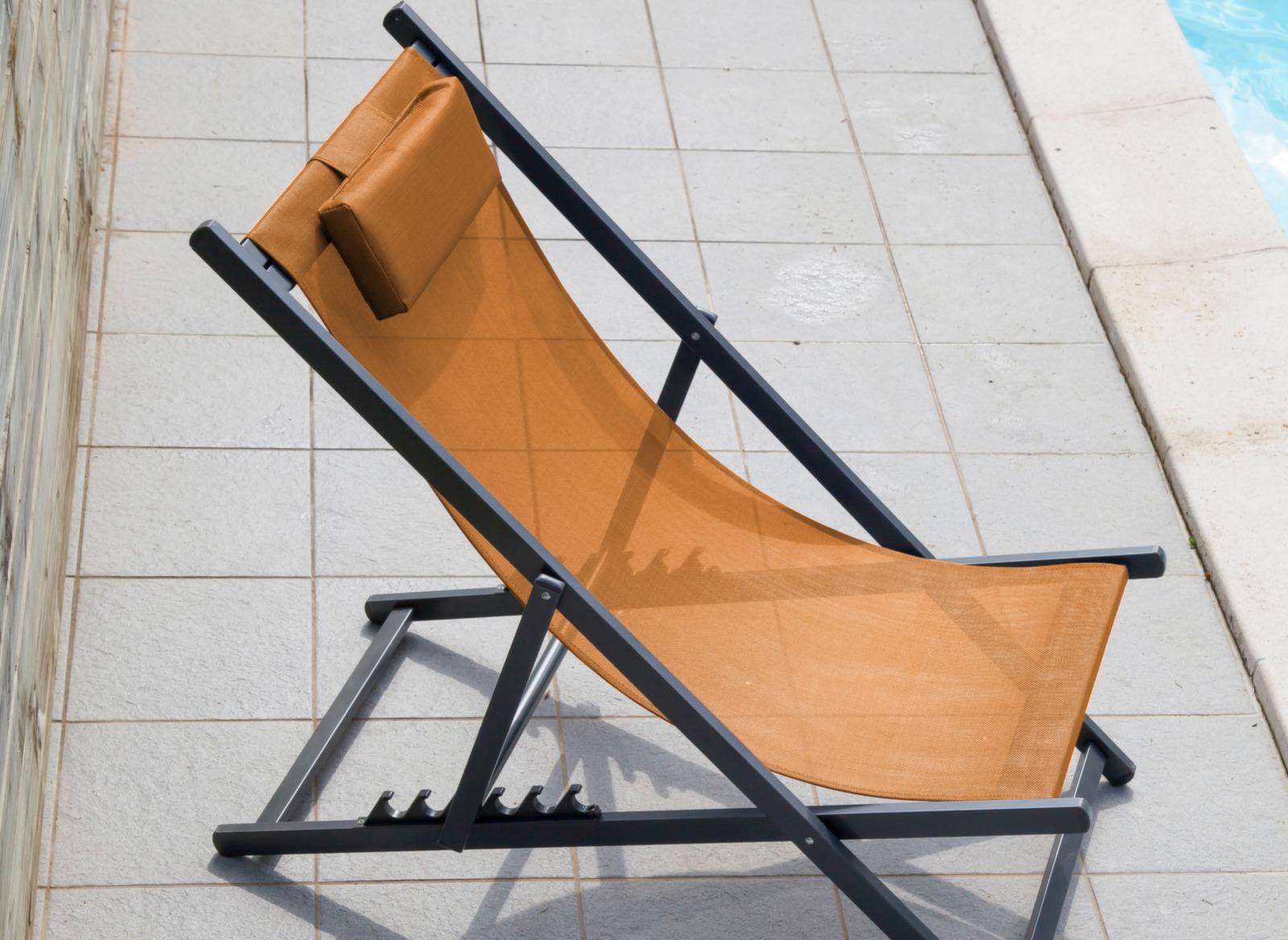 Chilienne Linéa pliante en aluminium – Proloisirs mobilier ...
