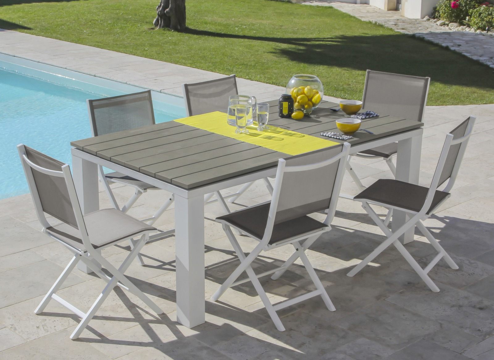 Table Elena - Tables fixes - Mobilier de jardin design Proloisirs