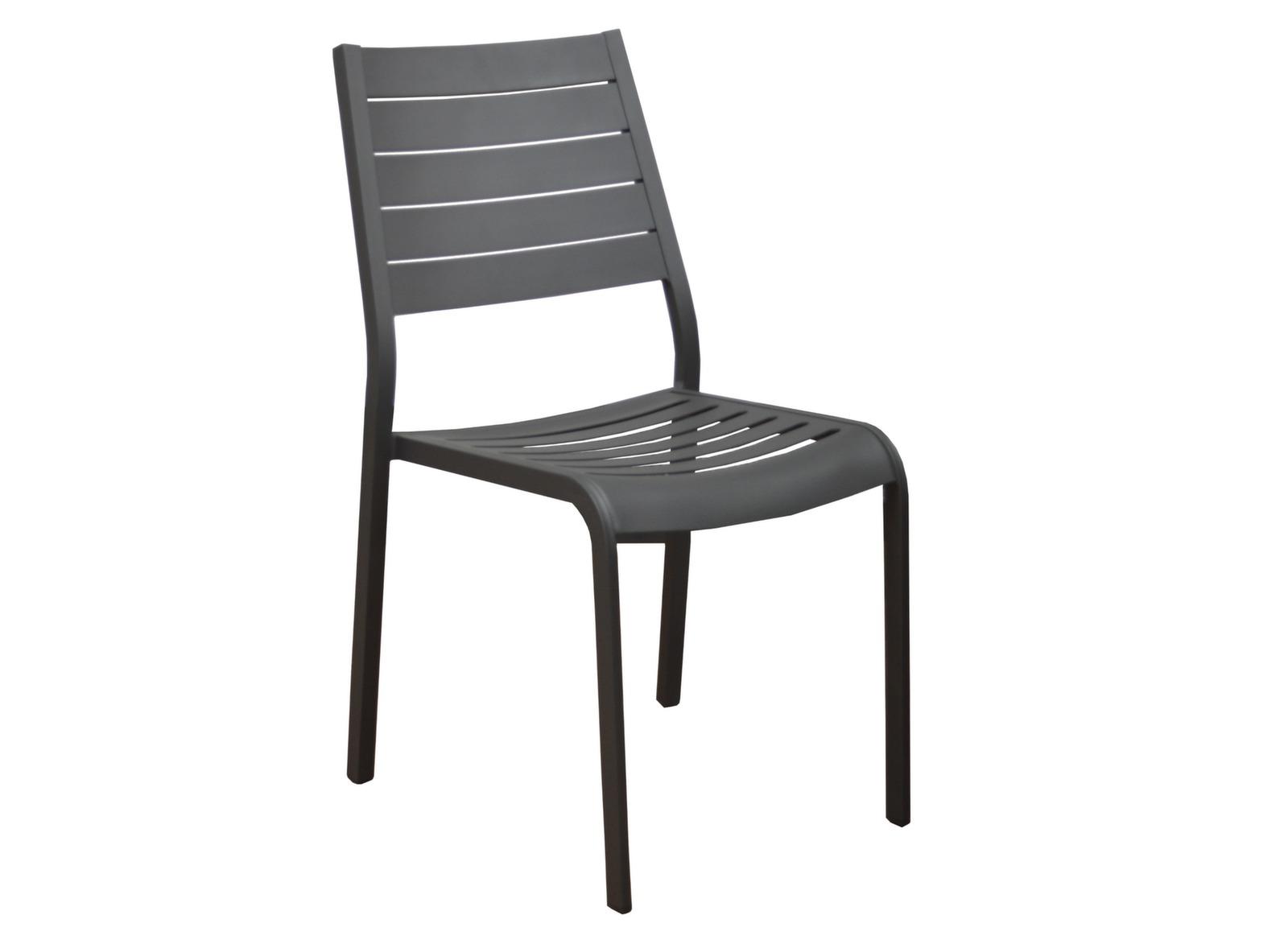 Chaise de jardin aluminium flower mobilier de jardin - Mobilier unique avis ...