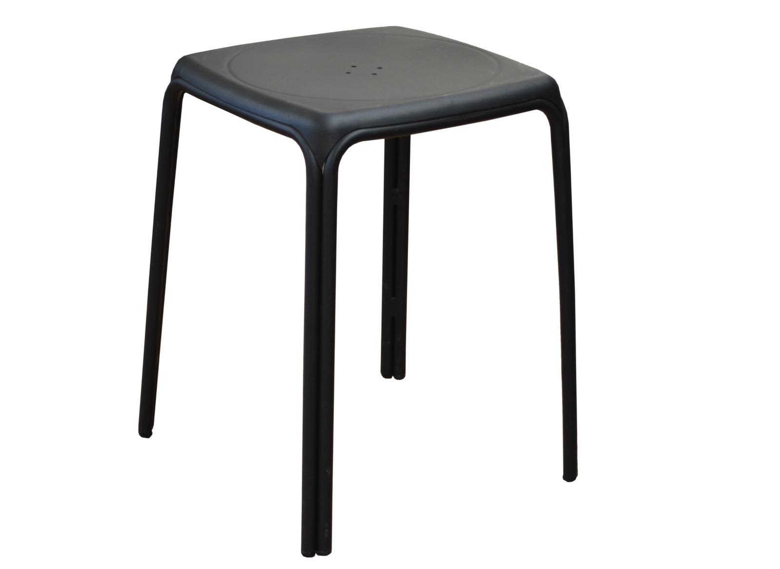 Tabouret azuro light grey soldes meubles de jardin pour for Mobilier de jardin soldes