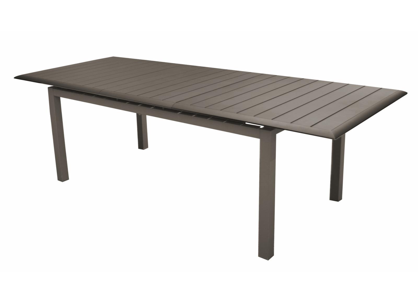 table louisiane 2 187 247cm mobilier de jardin pour le repas promotions bons plans. Black Bedroom Furniture Sets. Home Design Ideas