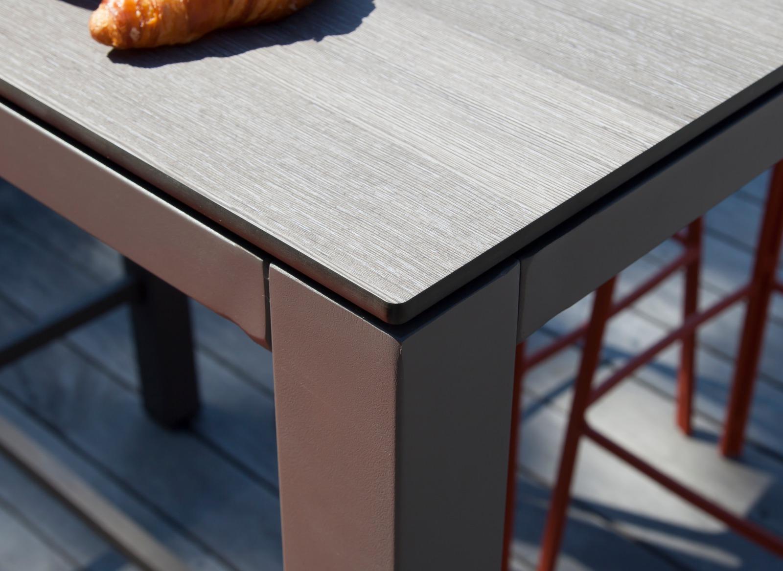 Mange-debout Stoneo 110 cm, plateau Trespa®