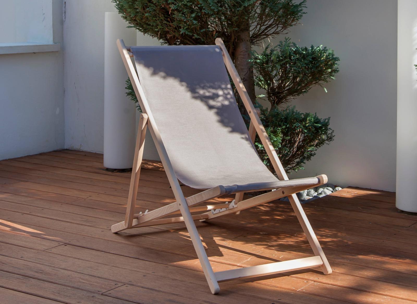 Dégriseur mobilier de jardin bois, Ecoproduit