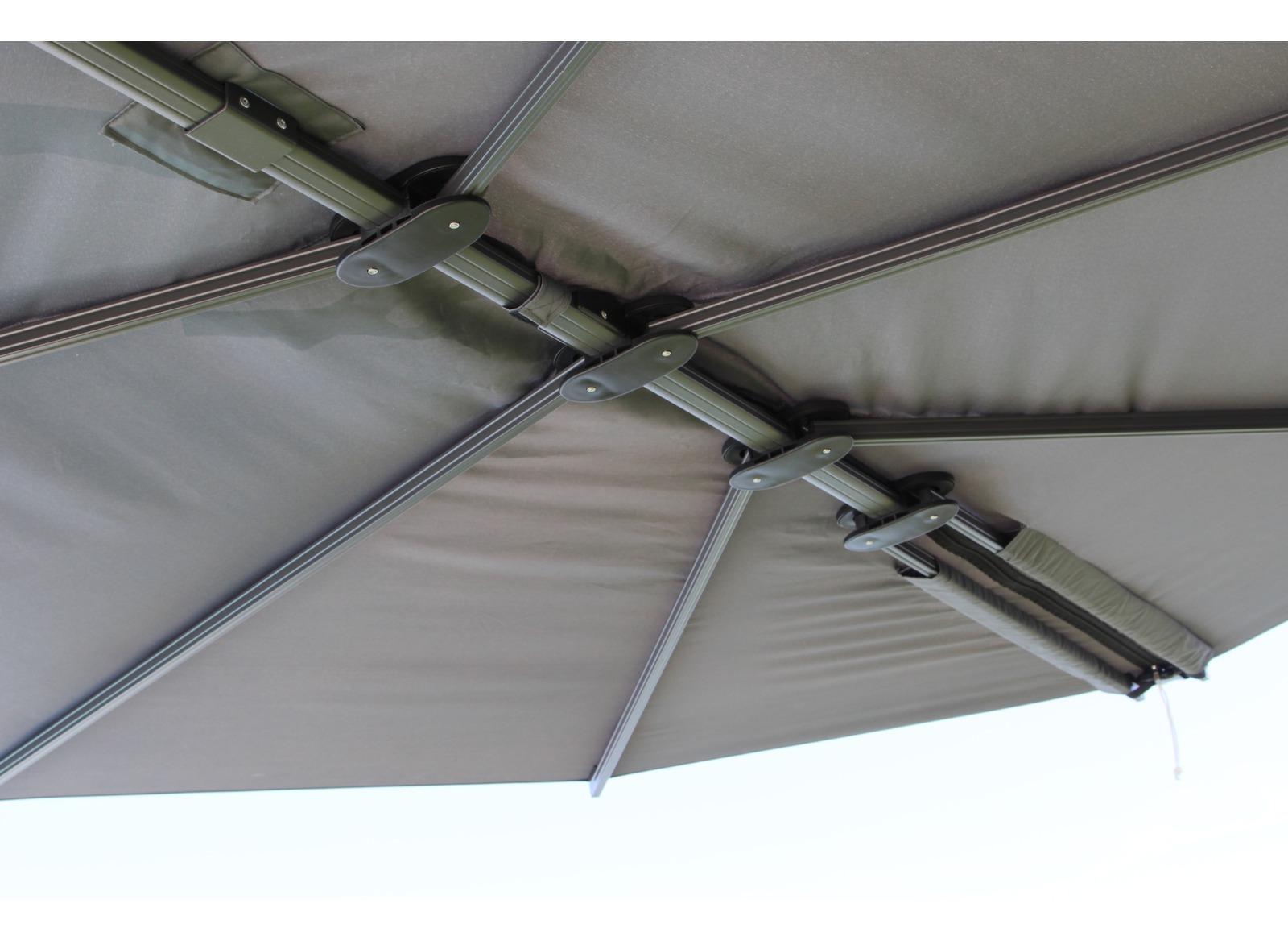 parasol d port feuille luxe parasol aliz pas cher. Black Bedroom Furniture Sets. Home Design Ideas