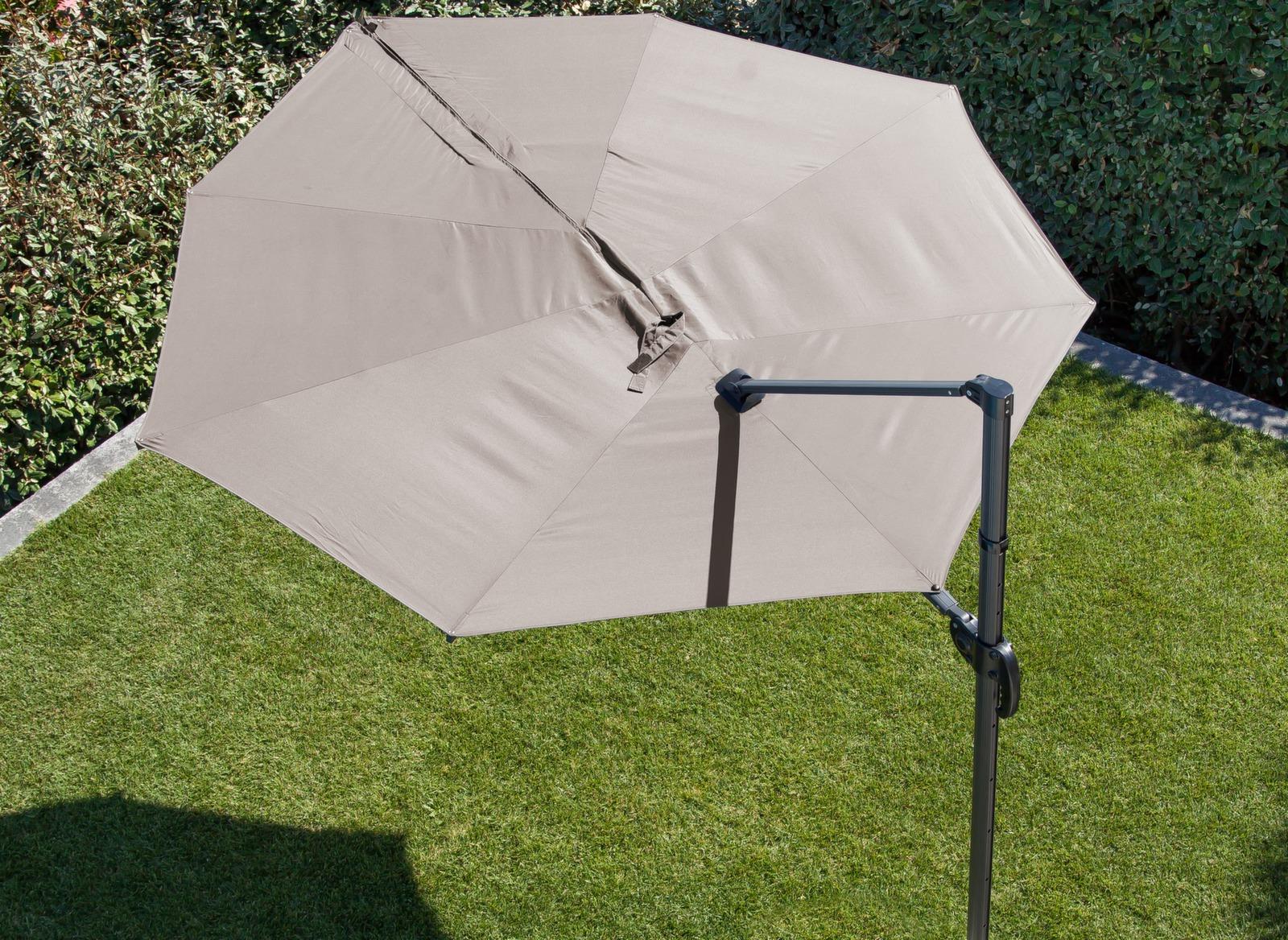 parasol d port en forme de feuille luxe proloisirs. Black Bedroom Furniture Sets. Home Design Ideas