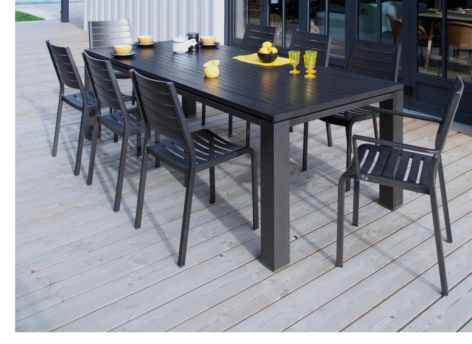 Fauteuil flower chaises et fauteuils de jardin salon de jardin repas pr - Mobilier unique avis ...