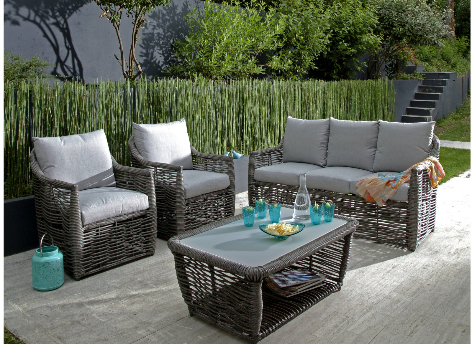 Fauteuil d tente cane fauteuils de jardin oc o sp cialiste du mobilier - Fauteuil detente jardin ...