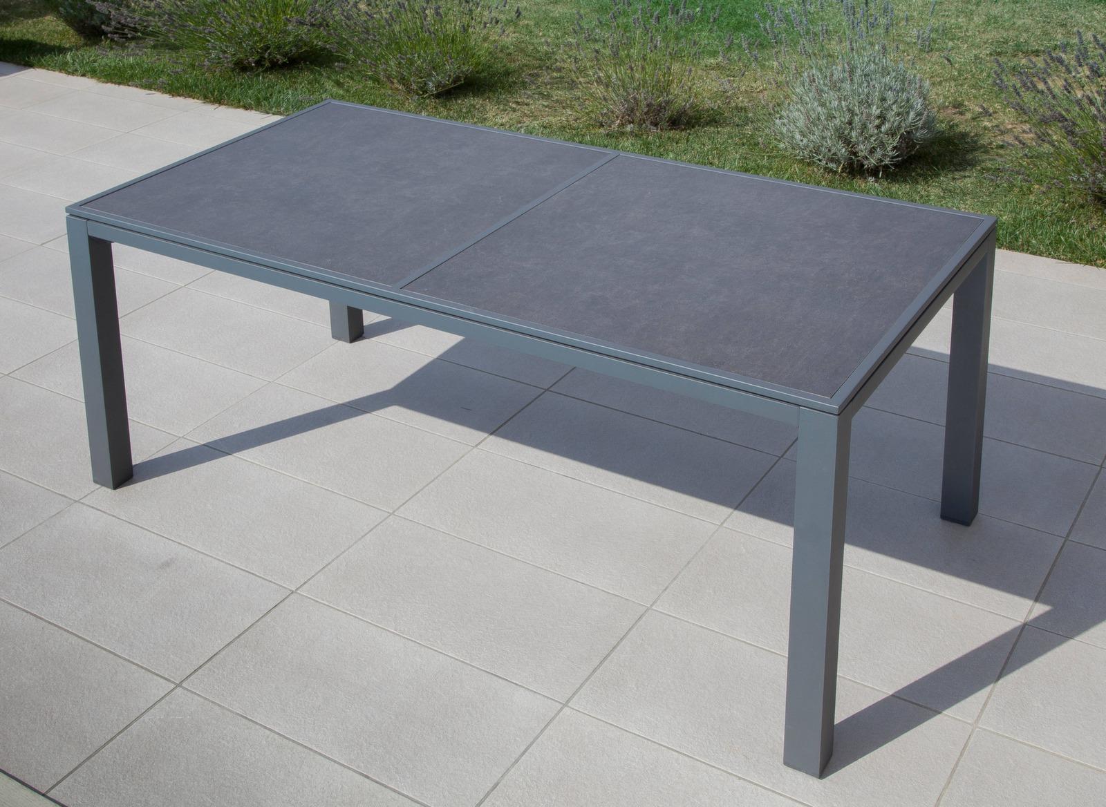 Table Romane 166 cm, plateau céramique
