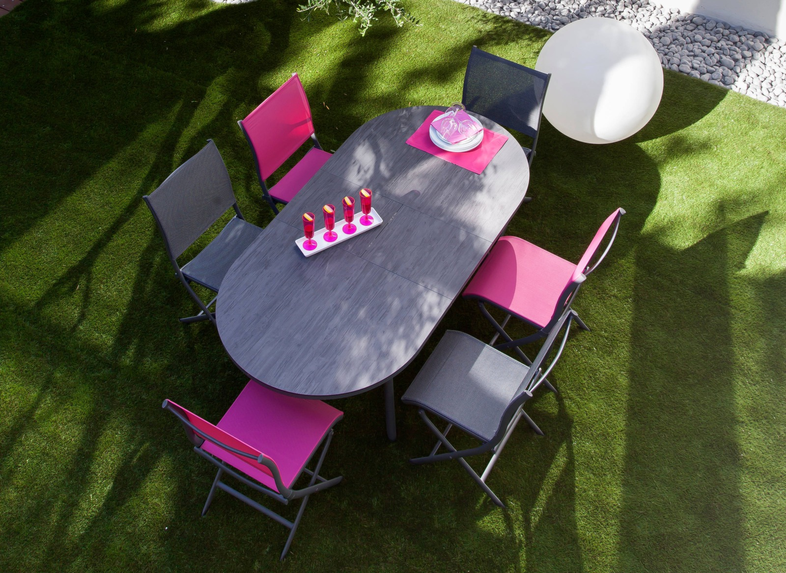 Table Bilbao 160/200cm - Tables extensibles - Mobilier de jardin
